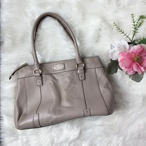 KATE SPADE Pebbled Leather Tote